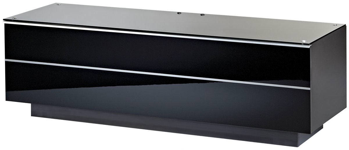 UKCF GS135 ULTIMATE 1350MM BLACK TV STAND