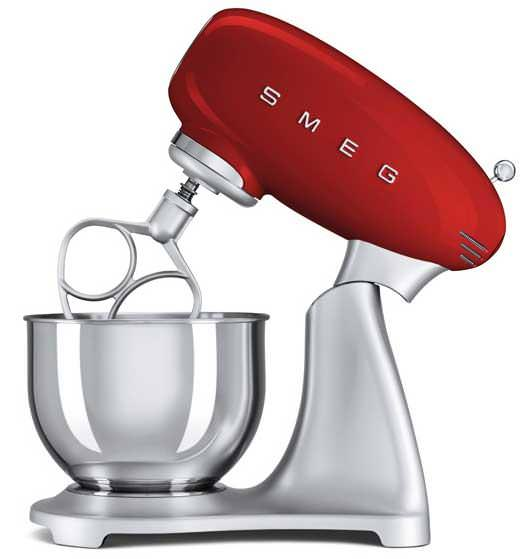 Smeg SMF01RDUK Red Retro Stand Mixer