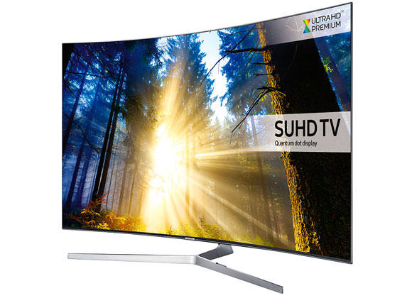 "Samsung UE55KS9000 SUHD 55"" HDR 4K Curved TV"