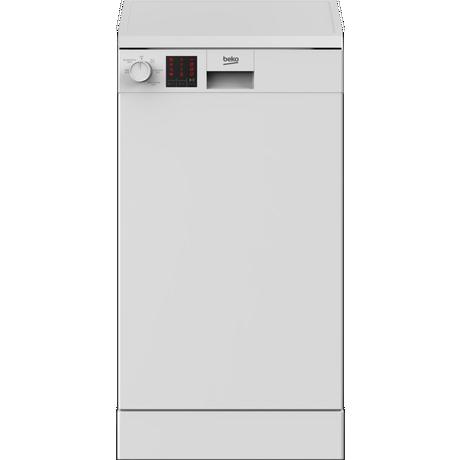DVS05C20W A++ Slimline Freestanding Dishwasher - White