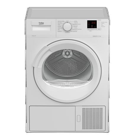 DTLP81141W 8kg A+ Heat Pump Tumble Dryer | White