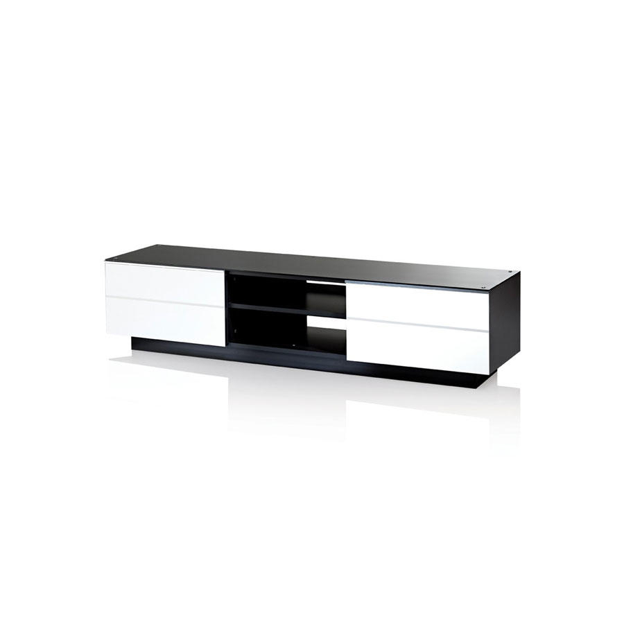 UKCF GS180 ULTIMATE 1800 WHITE TV STAND