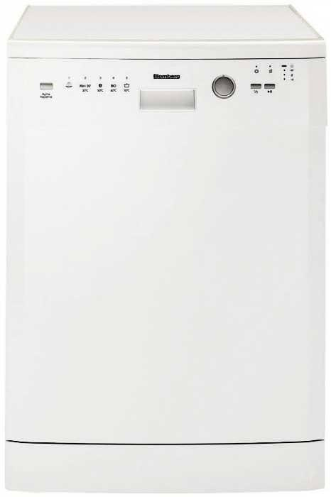 Blomberg ​GSN9122 60cm 12 Place Setting Freestanding Full Size Dishwasher