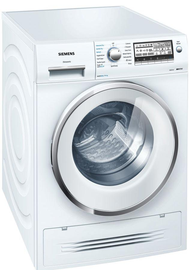 siemens iq700 wd15h520gb 7kg 1500 spin washer dryer. Black Bedroom Furniture Sets. Home Design Ideas