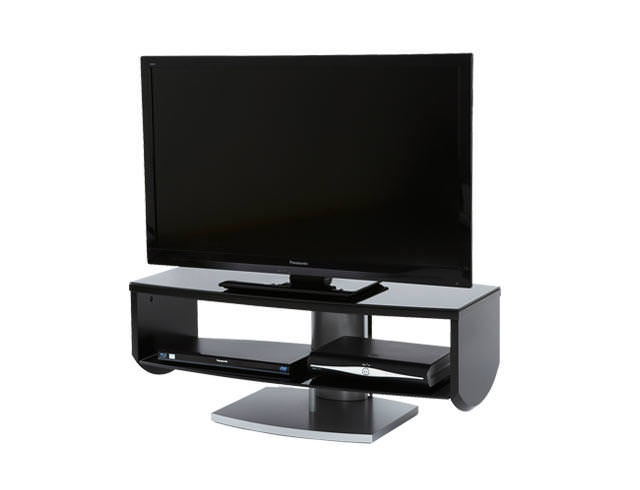 Off The Wall HZN1000 TV Cabinet Stand - Black