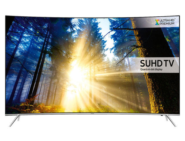 "Samsung UE55KS7500 55"" 4K HDR Ultra HD Curved Quantum Dot TV"