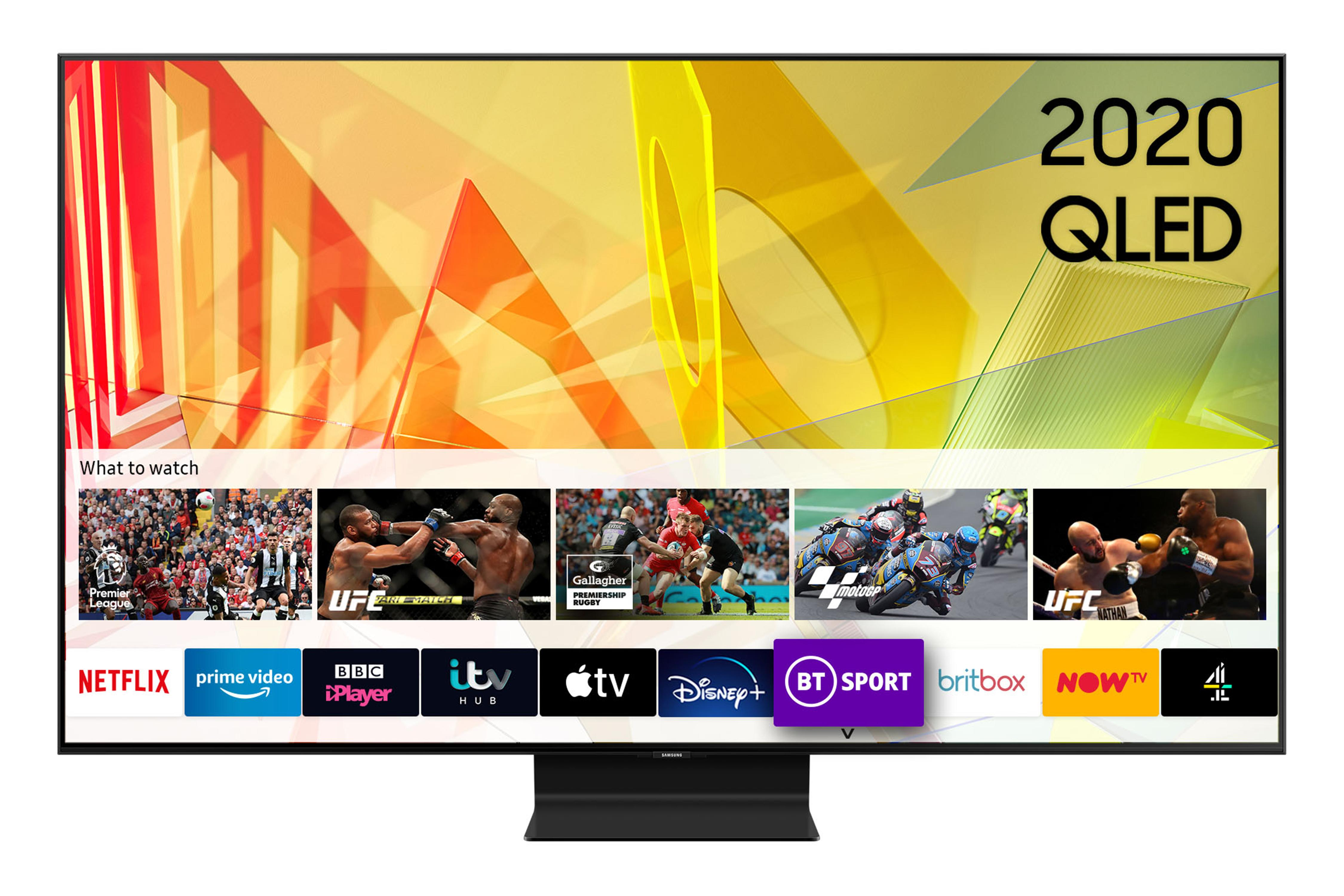 Click to view product details and reviews for Qe75q90t 2020 75 Inch Flagship Qled 4k Hdr 2000 Smart Tv With Tizen Os.