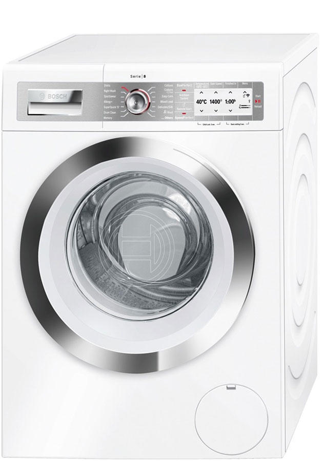 Bosch WAYH8790GB 9Kg 1400 Spin Washing Machine Home Connect