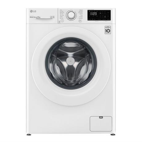 F4V308WNW 8Kg 1400 Spin A+++ Direct Drive Washing Machine   White