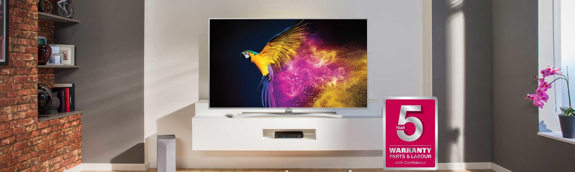 "LG 65UH770V 65"" 4K HDR Ultra HD LED TV"