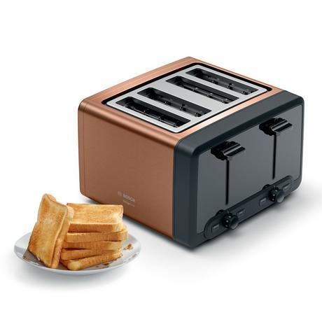 Image of TAT4P449GB 4 Slice Toaster - Copper