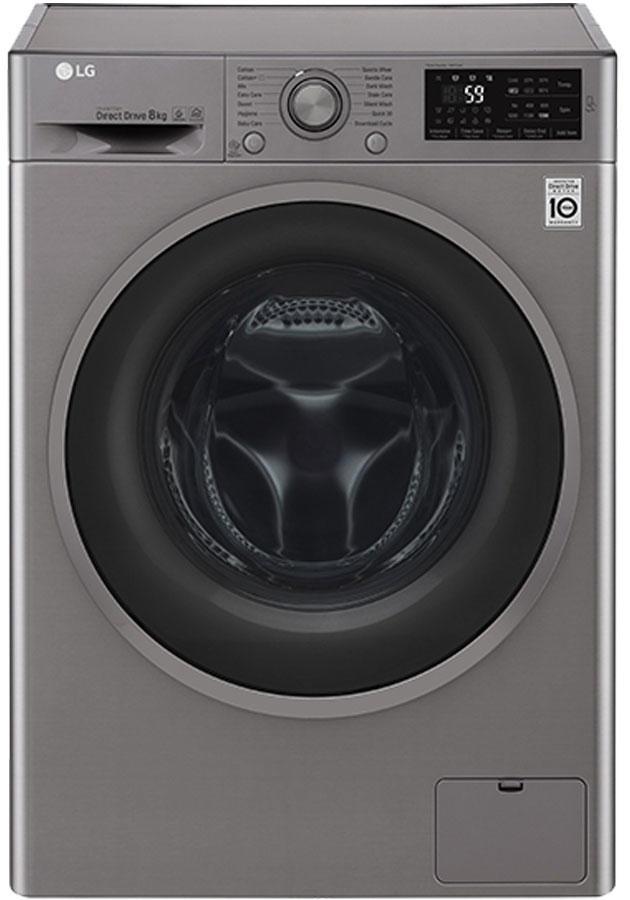 lg f2j6tn8s f2j6tn8s 8kg 1200 spin washing machine. Black Bedroom Furniture Sets. Home Design Ideas
