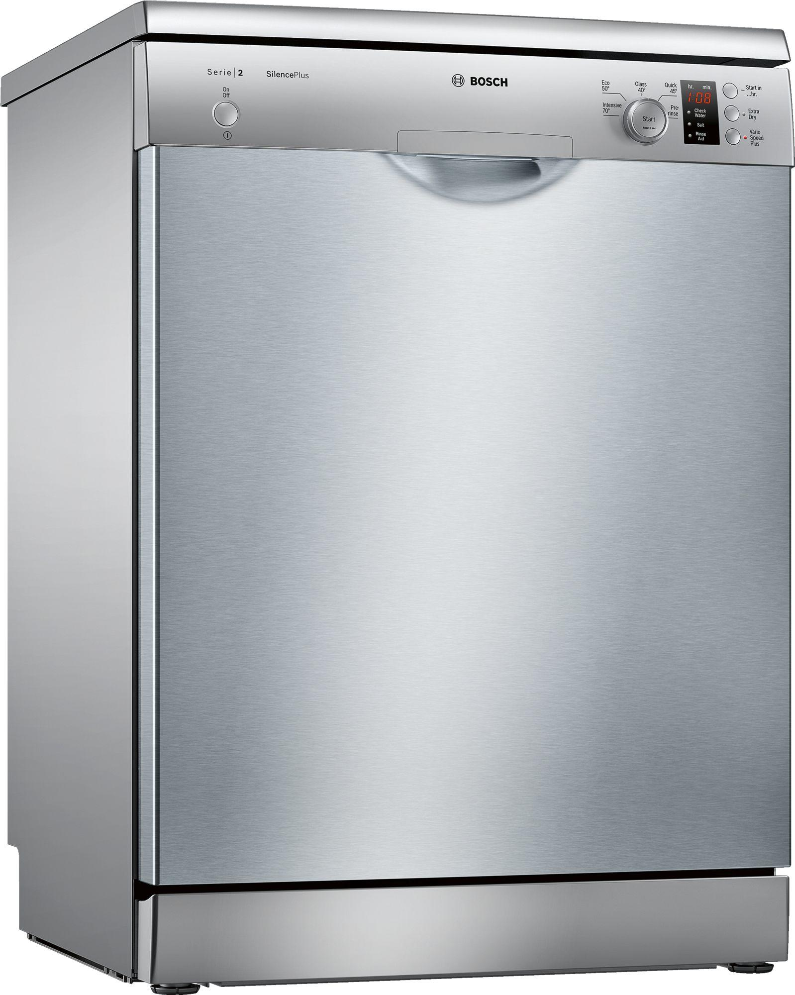 Image of Serie 2 SMS25AI00G 60cm A++ Standard Dishwasher   Silver Inox
