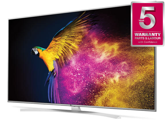 "LG 49UH770V 49"" 4K HDR Ultra HD LED TV"