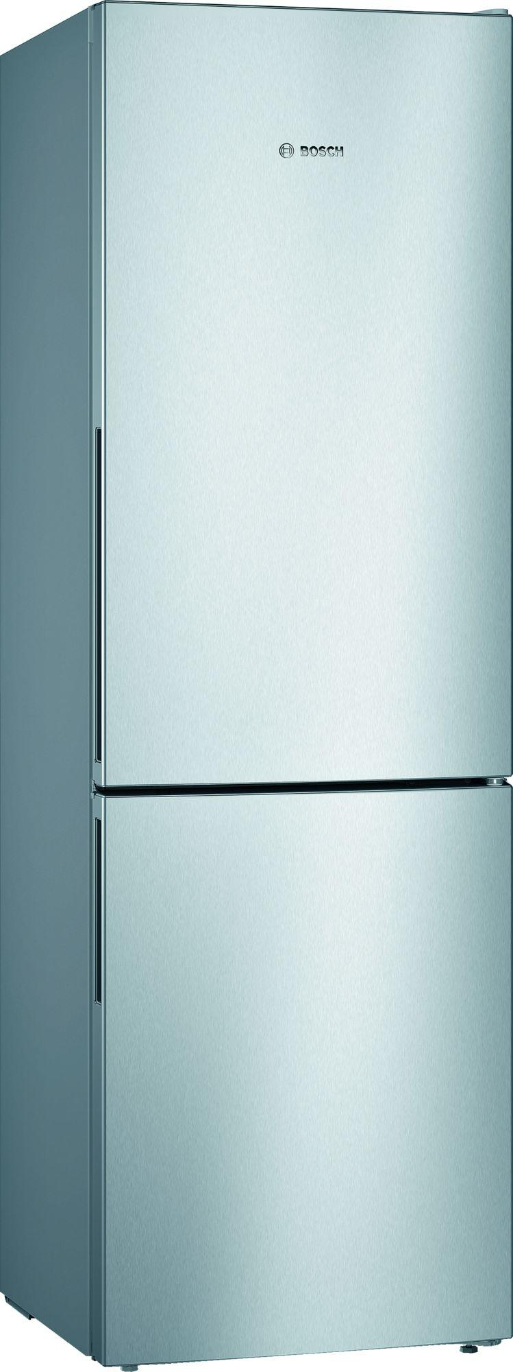 Image of Serie 4 KGV36VLEAG 308 Litre A++ Low Frost Fridge Freezer | Silver Inox