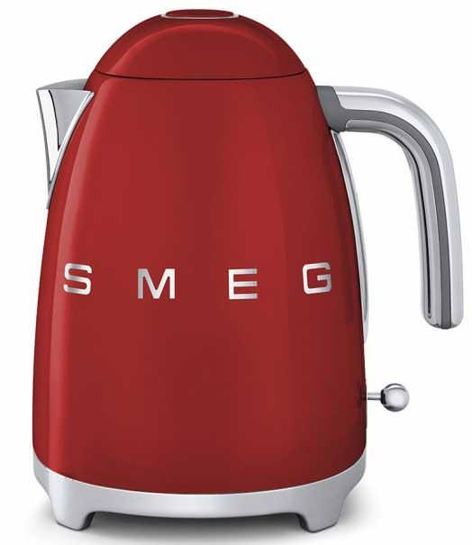 Smeg KLF01RDUK Retro Kettle Red