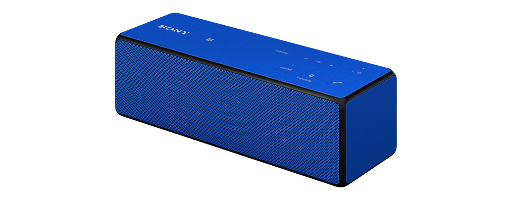 Sony SRS-X33 Blue Portable Wireless Bass Speaker with Bluetooth