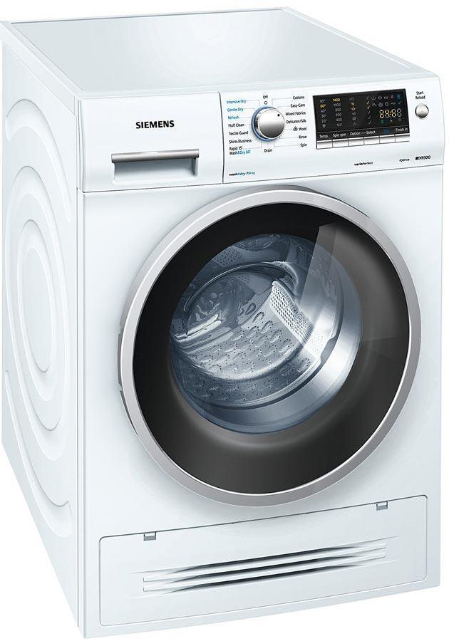 Siemens Iq500 Wd14h421gb 7kg 1400 Spin Washer Dryer