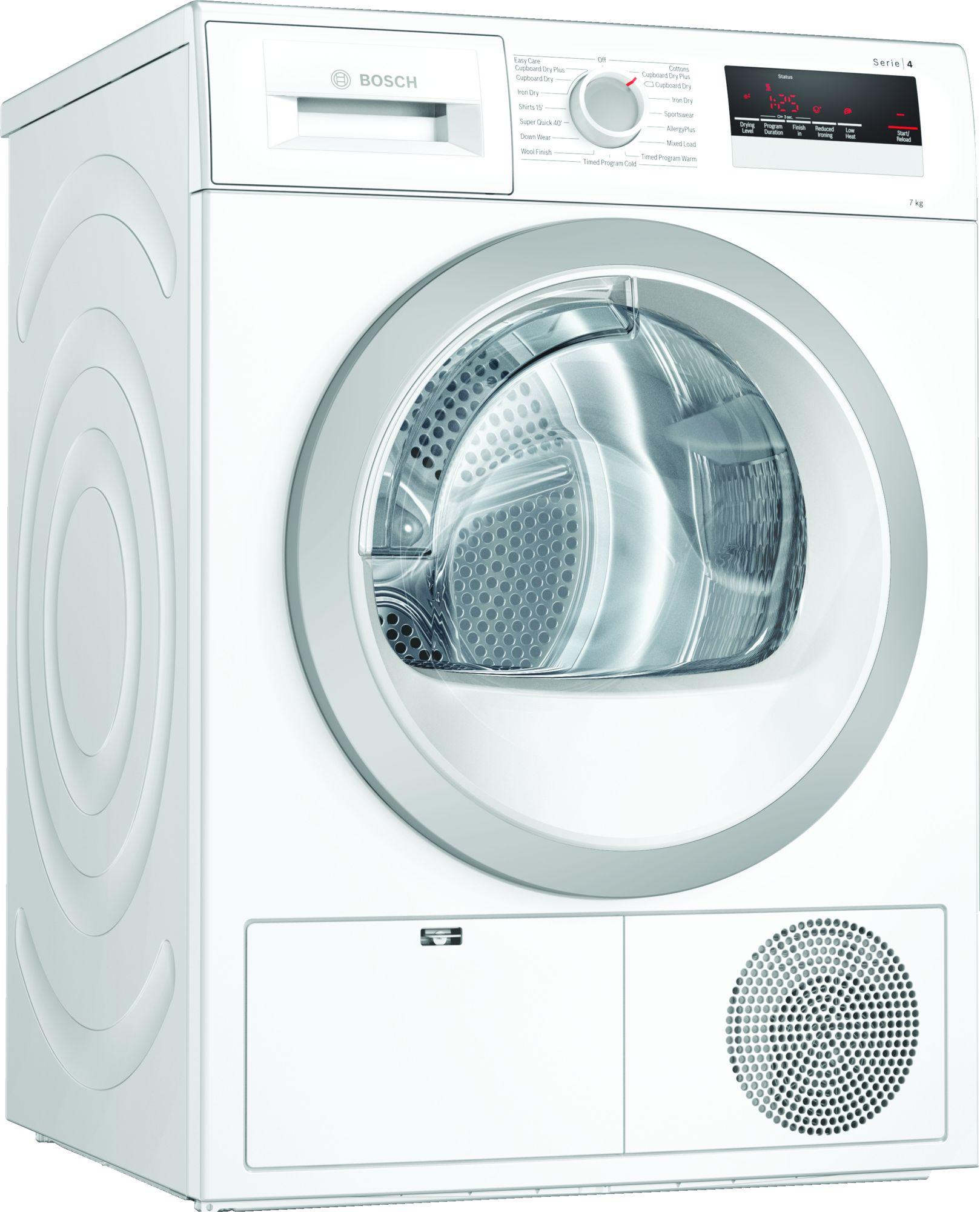 Image of Serie 4 WTN85201GB 7Kg B Rated Condenser Tumble Dryer