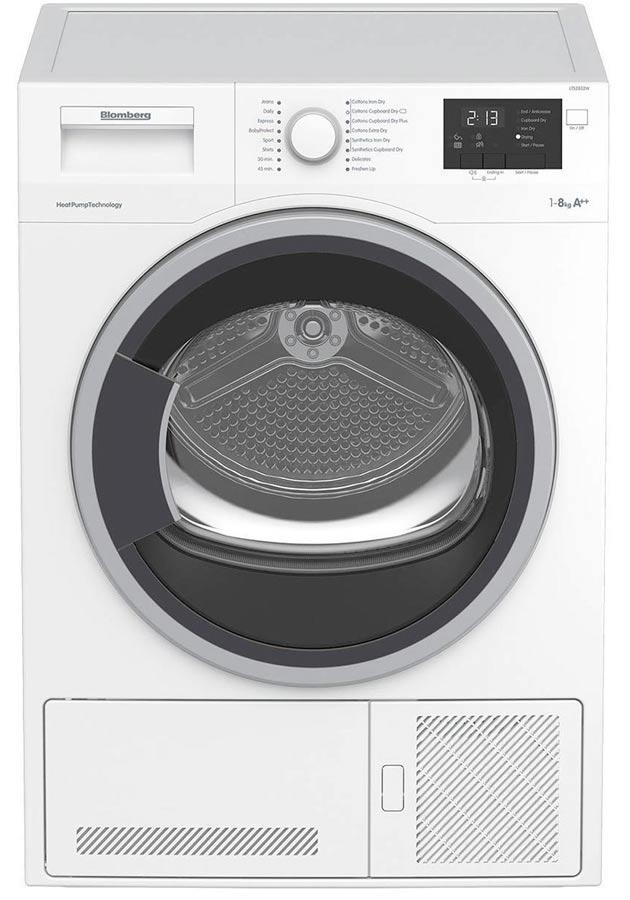 Blomberg LTS2832W 8kg Condenser  Tumble Dryer with Heat Pump Technology
