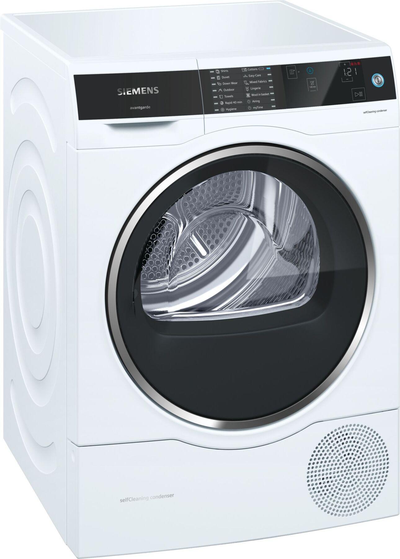 Image of Avantgarde WT7UH640GB 8Kg Self Cleaning Heat Pump Condenser Tumble Dryer