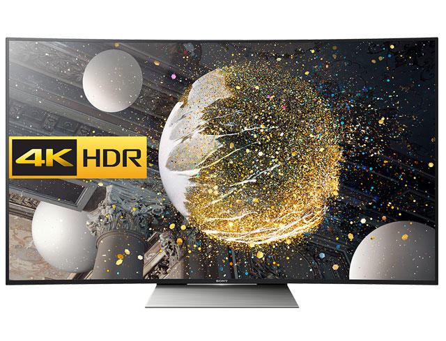 "Sony KD65SD8505BU 65"" Curved 4K HDR Ultra HD LED TV"