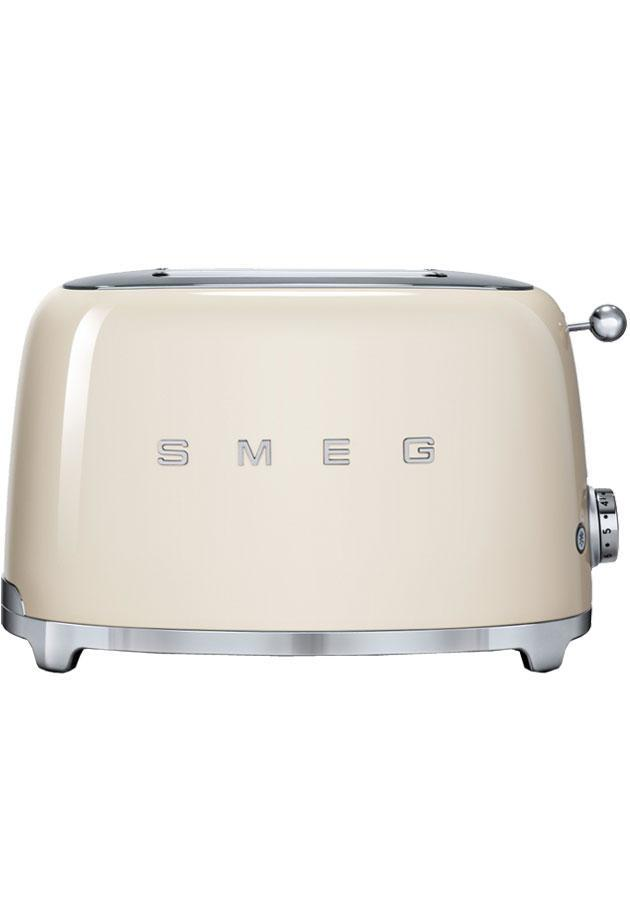 Image of 50's Retro TSF01CRUK 2 Slice Toaster in Cream