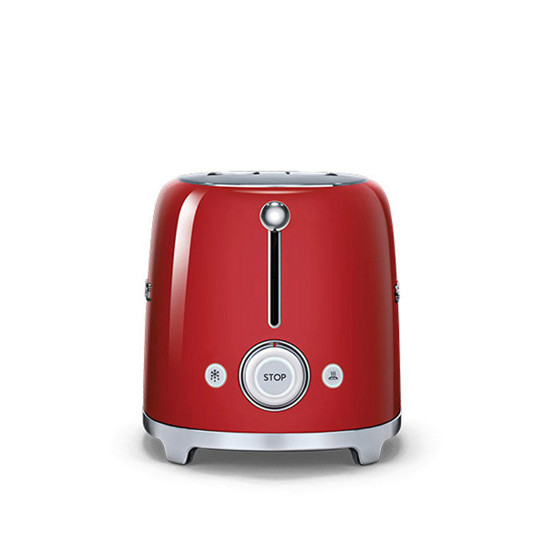 Smeg TSF01RDUK Retro 2 Slice Toaster - Red