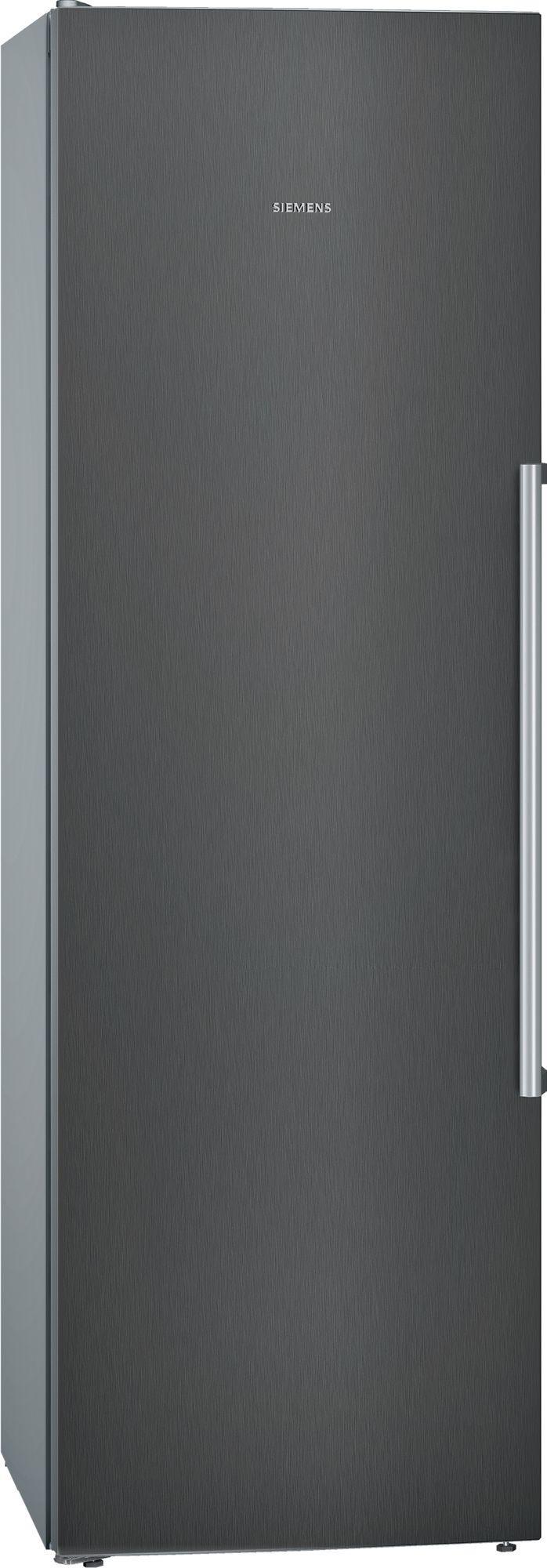 iQ500 KS36VAXEP 346 Litre Single Door Fridge | Black Stainless Steel
