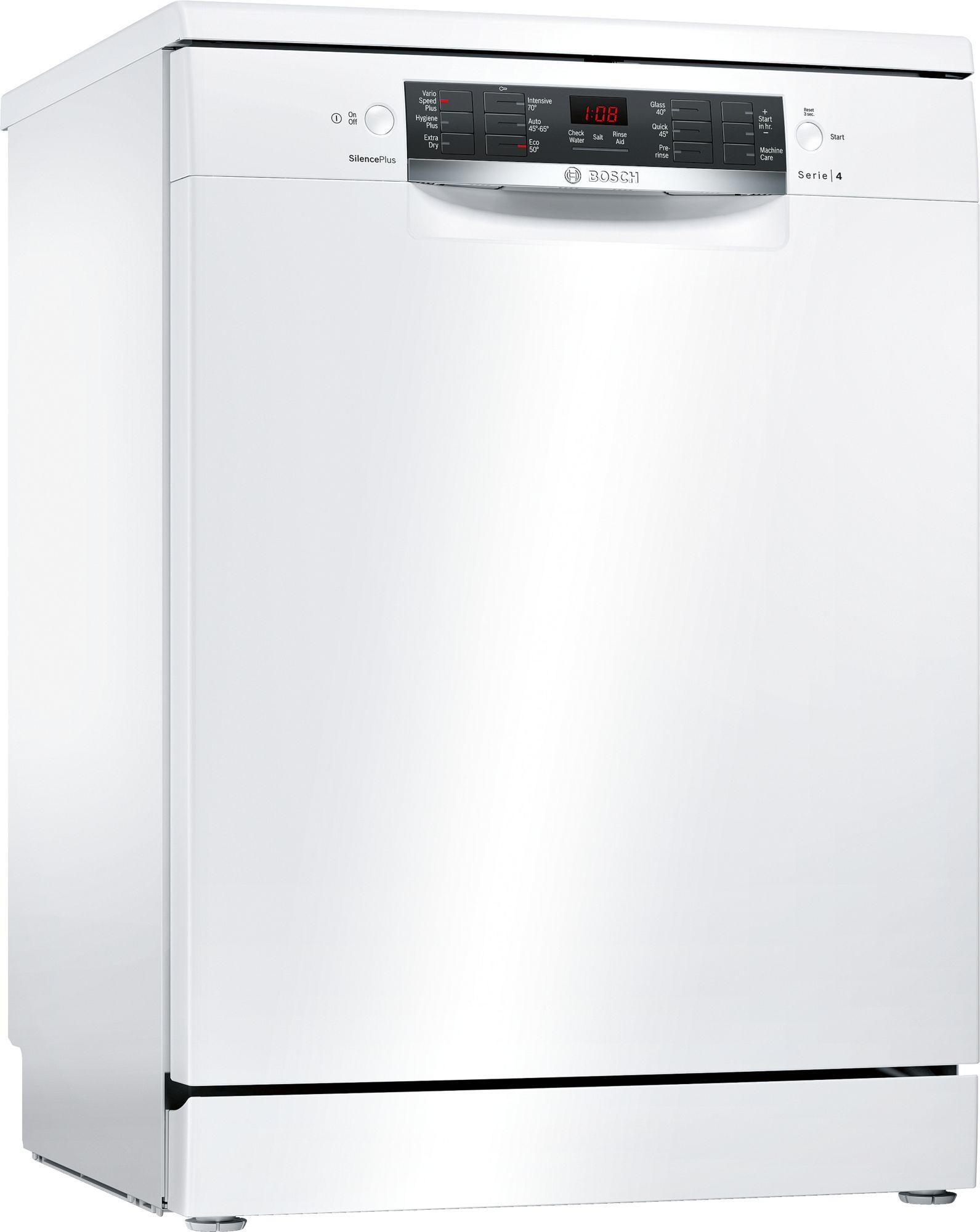 Image of Serie 4 SMS46IW10G 60cm A++ Standard Dishwasher   White