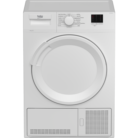 DTLCE80041W 8kg Condenser Tumble Dryer | White