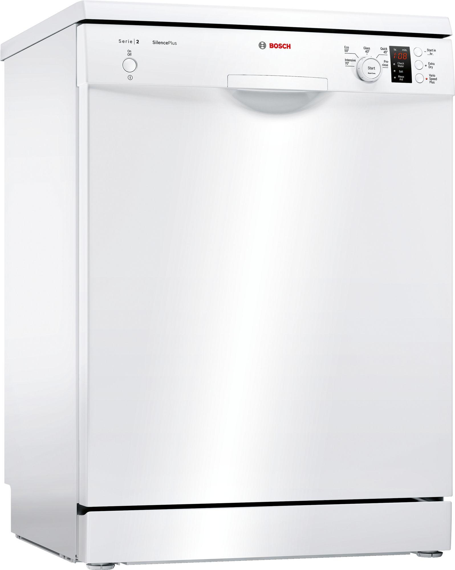 Image of Serie 2 SMS25EW00G 60cm A++ Standard Dishwasher   White