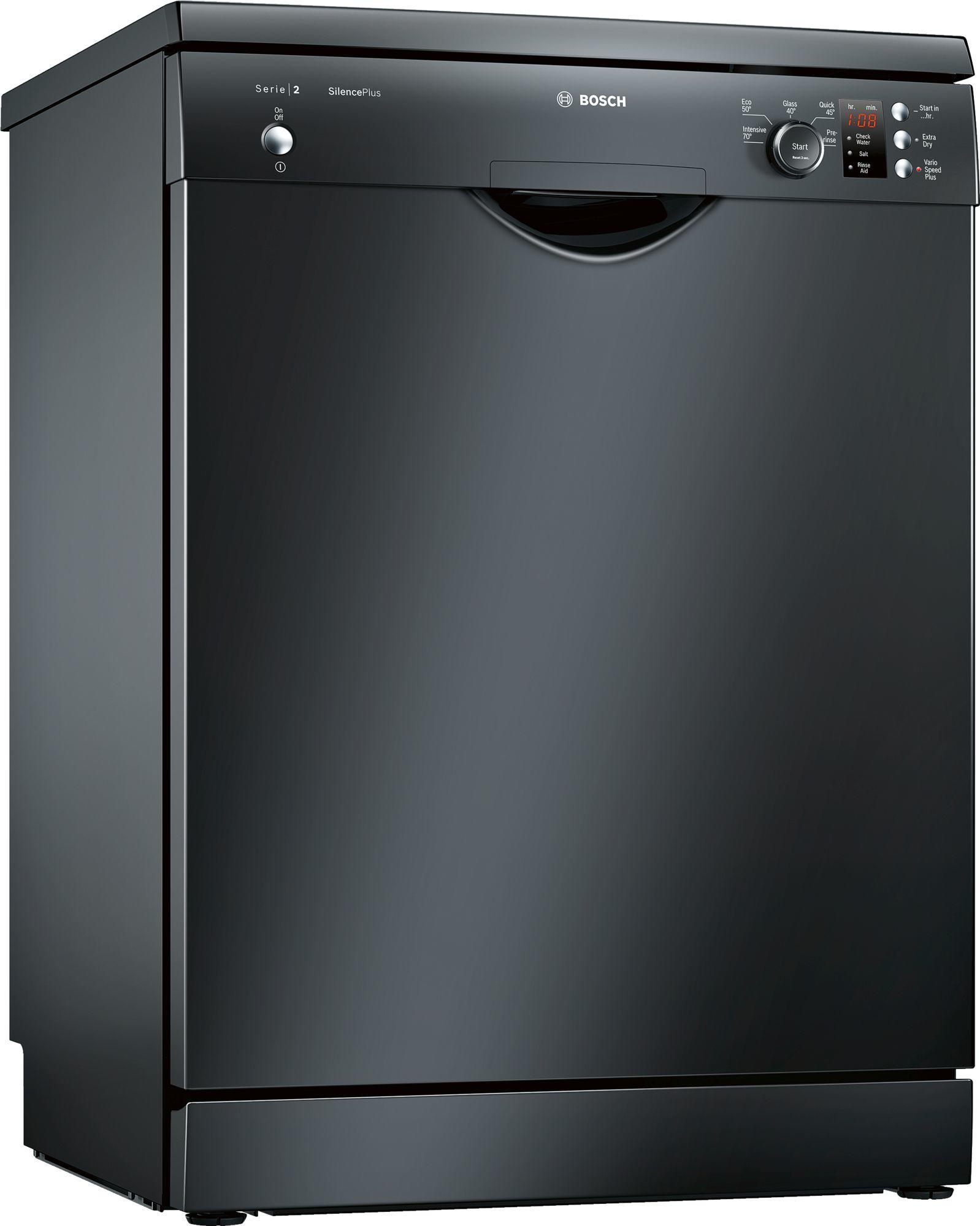Image of Serie 2 SMS25AB00G 60cm A++ Standard Dishwasher | Black