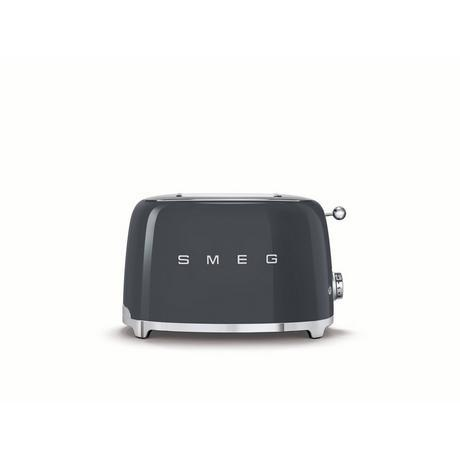 Image of 50's Retro TSF01GRUK 2 Slice Toaster - Slate Grey
