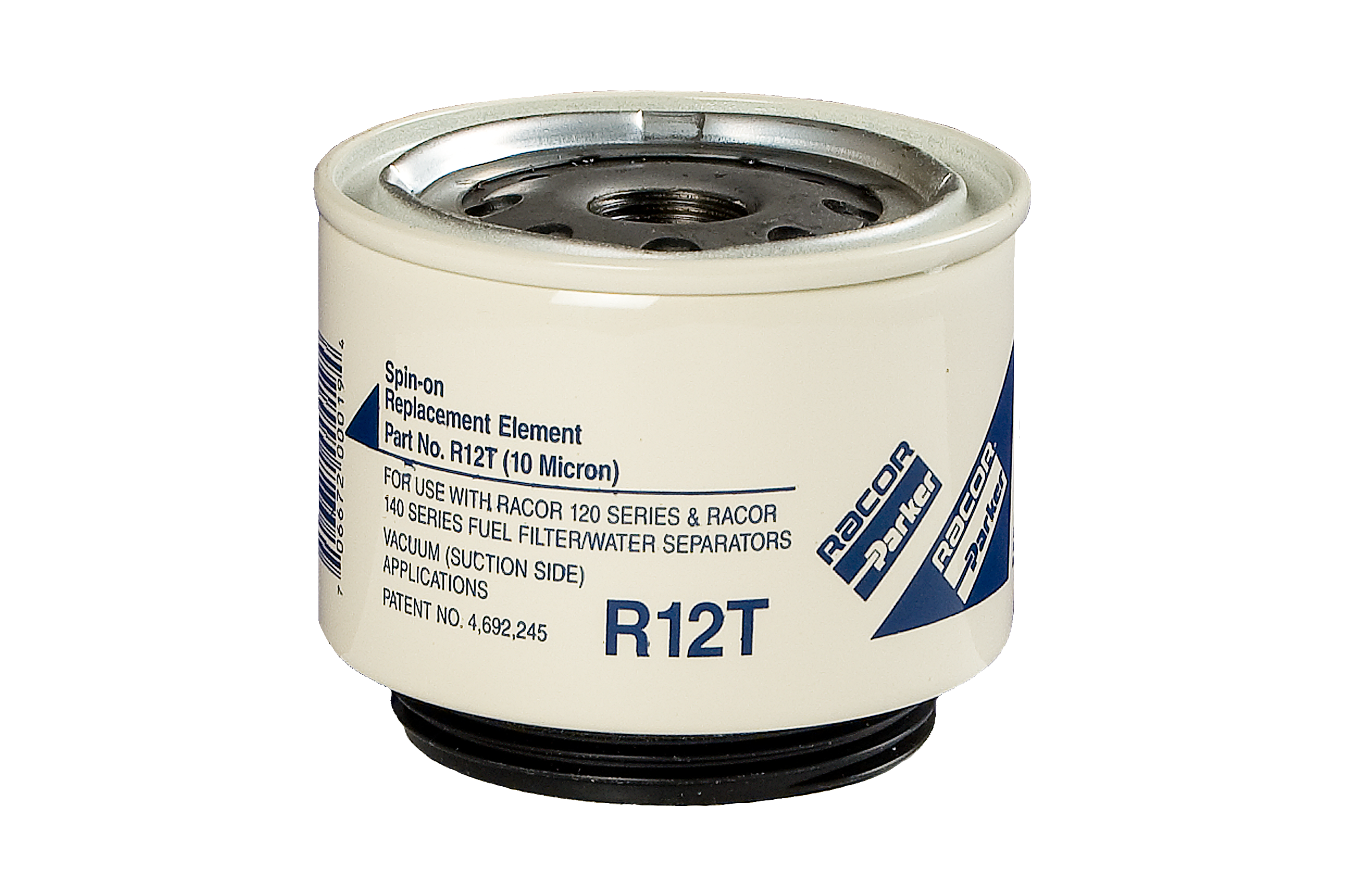 Replacement Element  R12T 10 Micron Fuel Filter Water Separator