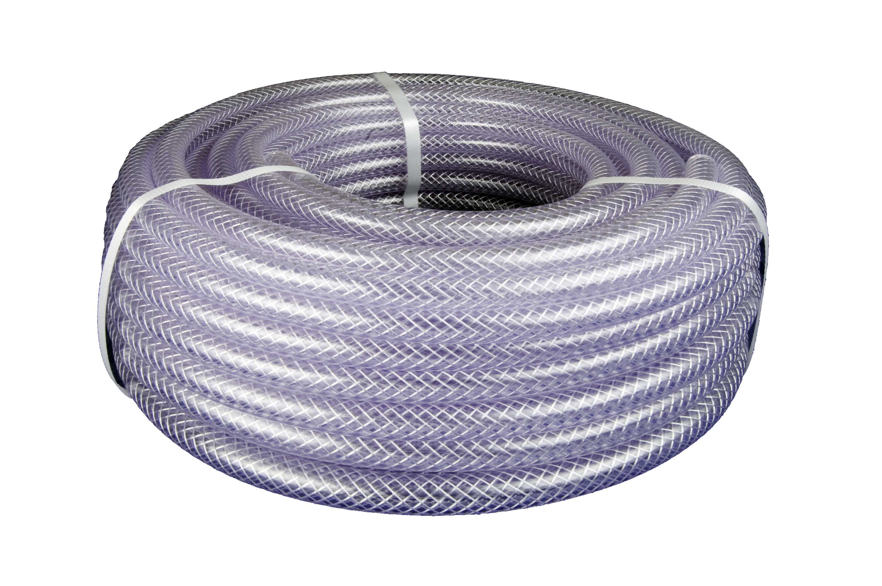 Clear  PVC  Braided  Hose