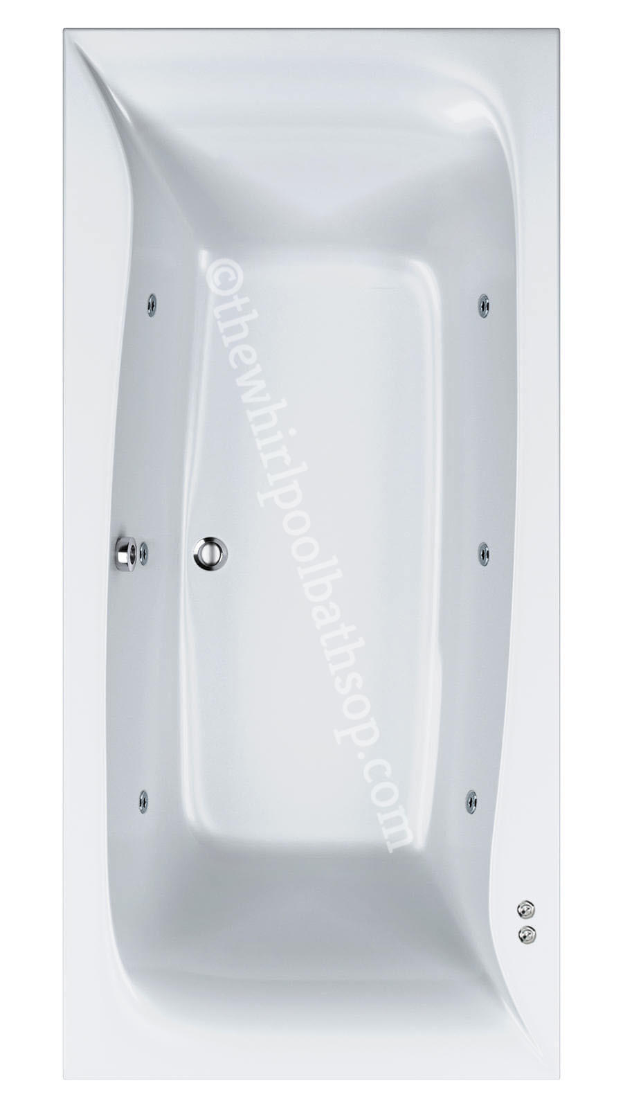 Carron Linea 1900 mm x 900 mm Whirlpool Bath