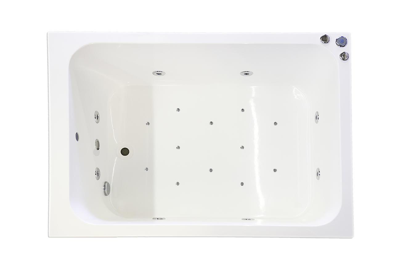 20 Jet Oriental Deep Soaking Japanese Bath - 1200 x 1000