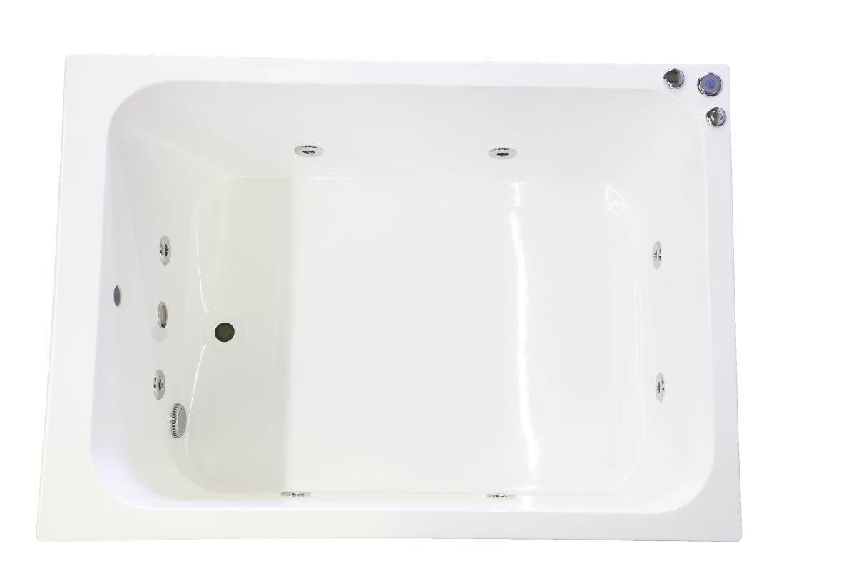 1200 x 1000 8 Jet Oriental Japanese Whirlpool Bath Tub