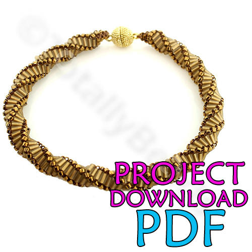 Darice jewelry projects knotted chain charm necklace. Download.
