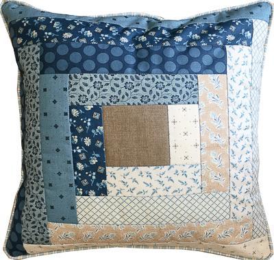 Log Cabin Cushion Cover Kit