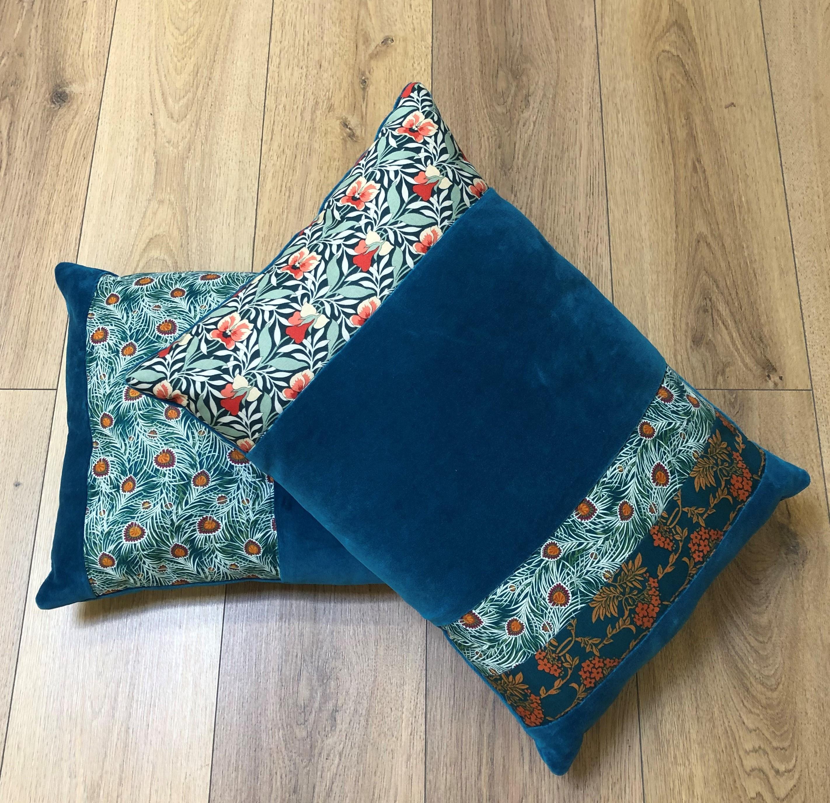 Liberty Velvet Cushion Kit
