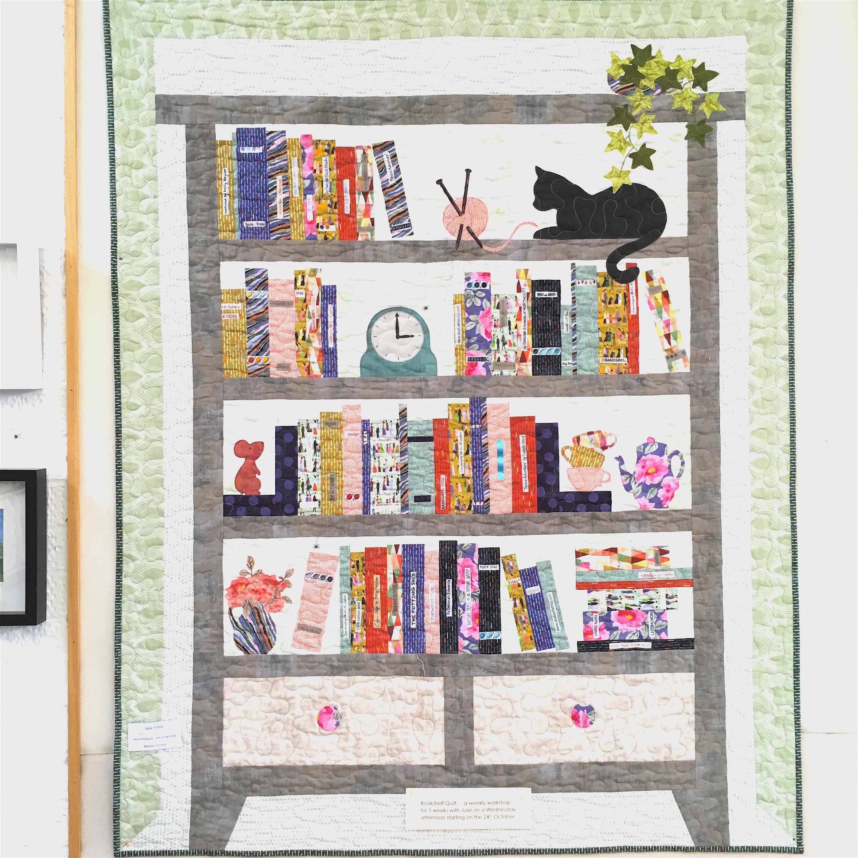 2018 10 24 Bookshelf Quilt Class