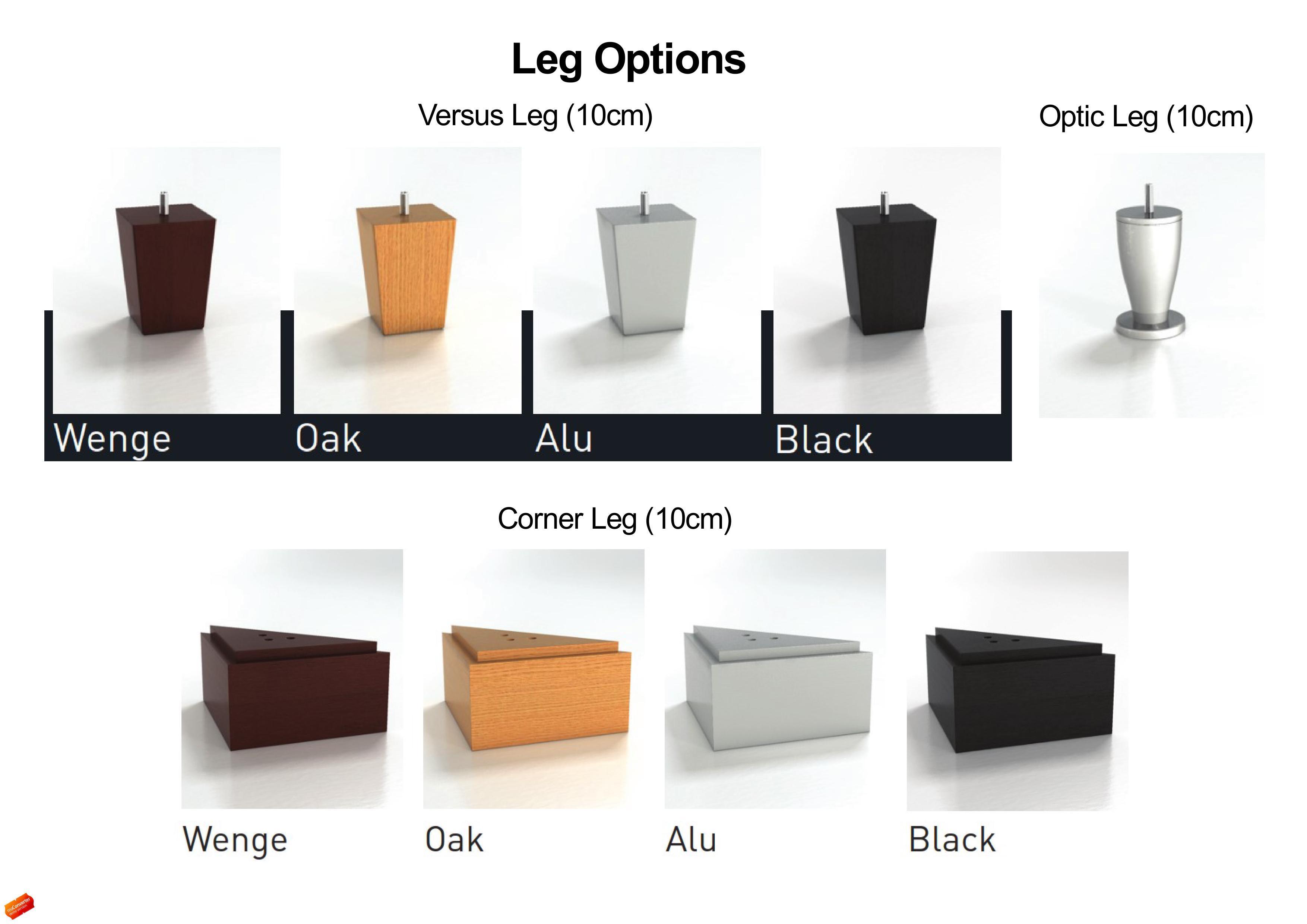 Velda Versus Boxspring Bed With Pocket Memory Mattress