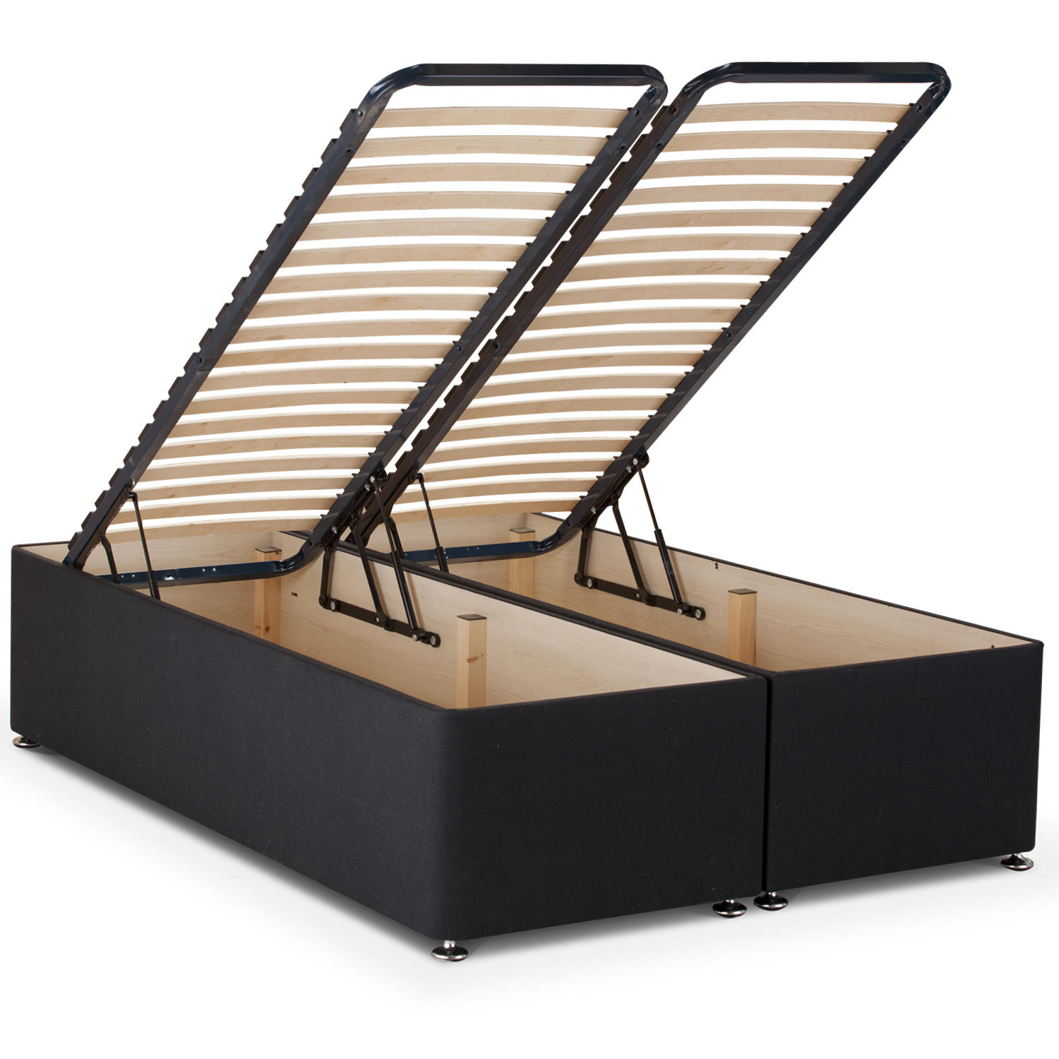 Ottoman storage beds for High divan base