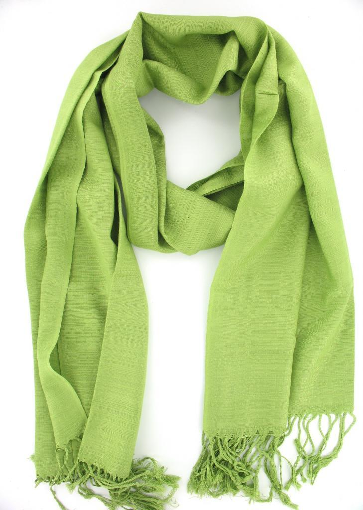 Scarf in Aqua Green