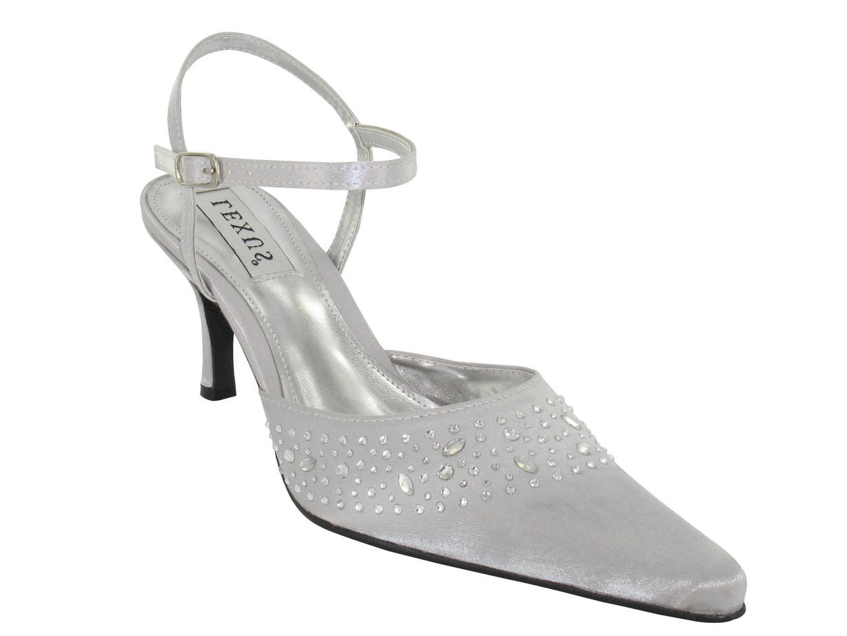 Nikki in Light Grey/Silver