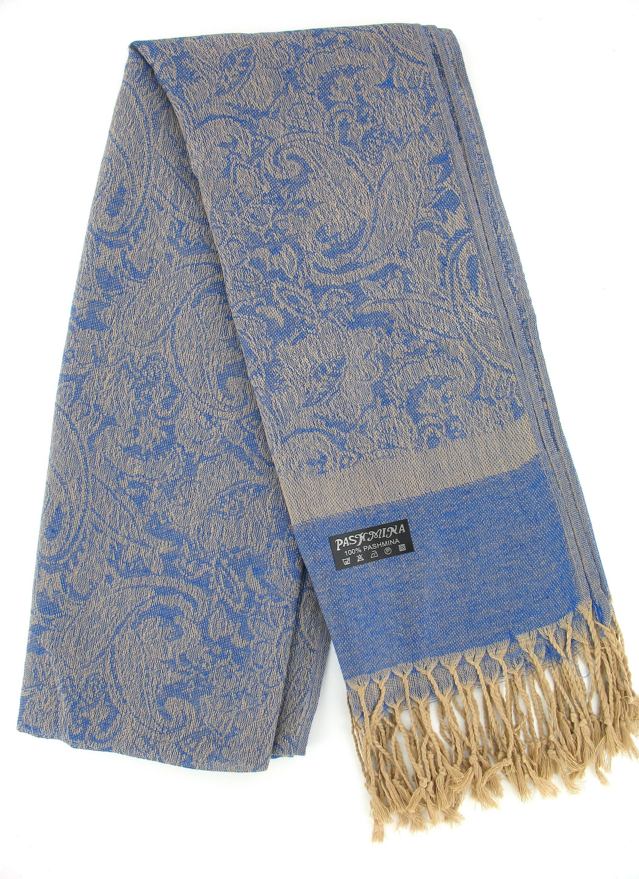 Scarf in Cobalt Blue