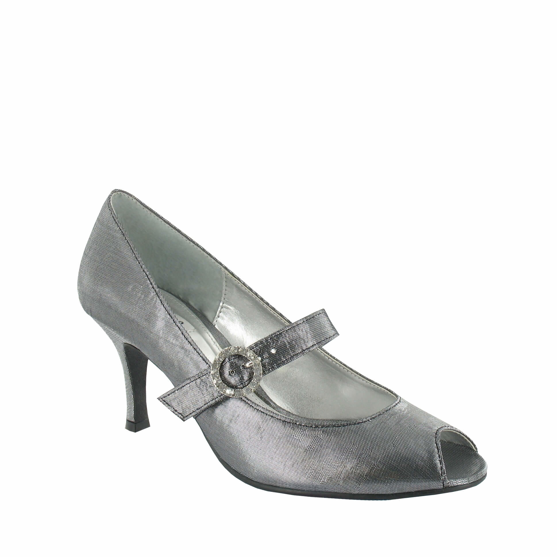 Sandy in Metallic Grey