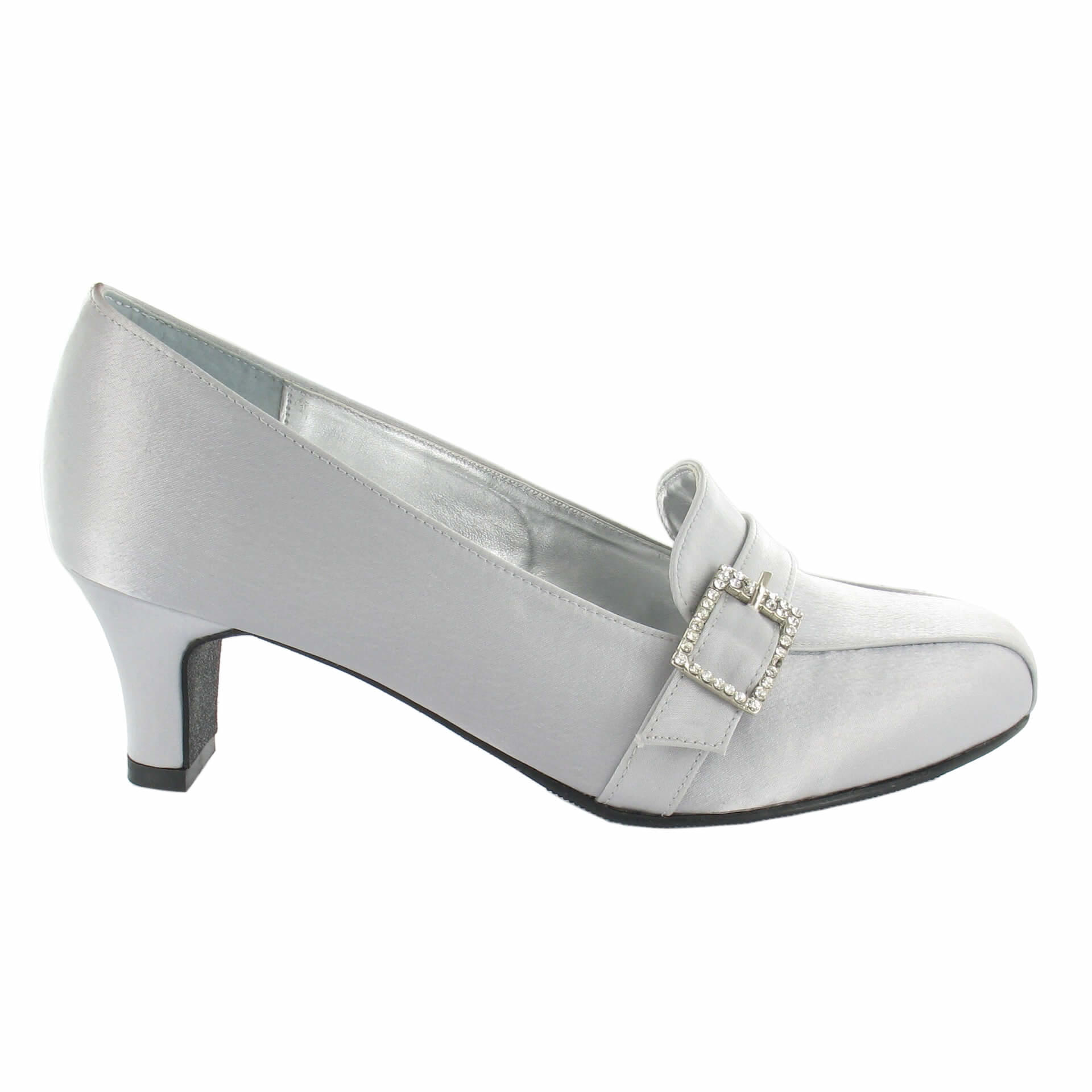 Abbi in Light Grey/Silver